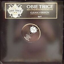[RAP]~NM 2 DOUBLE LP~OBIE TRICE~Second Round's On Me~[2006 SHADY]~Clean~