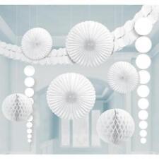 Décorations de fête blanche Amscan pour la maison toutes occasions