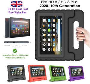 EVA Foam Shockproof Kids Tough Case Cover For Amazon Kindle HD Fire 8 Plus 2020