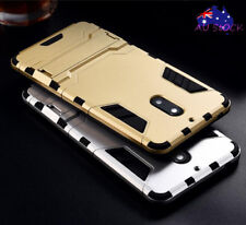 For Nokia 3 6 8 Case Heavy Duty Strong Kickstand Soft Bumper Hybrid Cover Skin