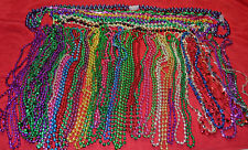 HUGE 45 pc LOT MARDI GRAS Beads New Orleans HALLOWEEN Costume Nearly 3 pounds