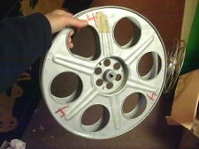 35mm  . Antique Metal Film Reel Vintage GREAT FOR MAN CAVE HOLLOWOOD  28F