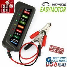 Car Battery Tester 12V Automotive Led Display Vehicle Analyzer Diagnostic Tool