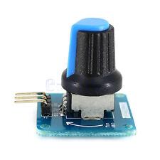 3-5.5VDC Blue Rotary Angle Sensor Module Light / Volume Control for Arduino HM