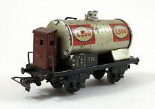 Märklin 374 Kesselwagen Esso Blech Spur H0 1940er Jahre