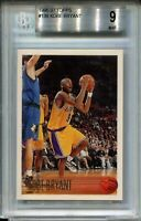 1996 Topps #138 Kobe Bryant Rookie Card RC Graded BGS MINT 9 9.5 Centering