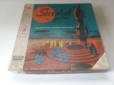 1968 Milton Bradley Swahili Board Game Complete RARE 8+ African Heritage EX *