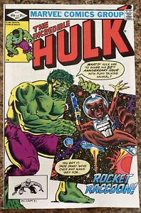 Incredible Hulk #271 - 1st App of Rocket Raccoon - High Grade!