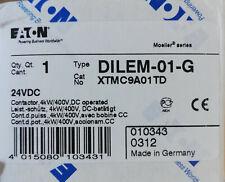 4kw dil em-10-g 3s 1s Nuovo 1 0-g 24v//dc Confezione Originale MOELLER-EATON prestazioni omogeneizzare Z DILEM