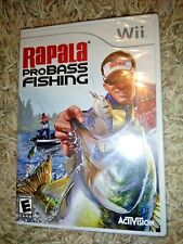 Rapala Pro Bass Fishing (Nintendo Wii, 2010) *****BRAND NEW*****