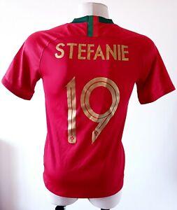 Portugal 2018 - 2020 Home shirt football Nike jersey size S #19 Stefanie