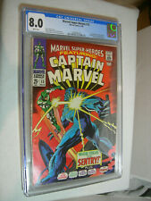 Marvel Super-Heroes #13 CGC 8.0 white pages 1st appearance of Carol Danvers