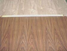 "Walnut wood veneer 24""x 96"" with peel and stick PSA adhesive (2' x 8' x 1/40"")"