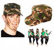 Adulte camouflage casquette baseball hat british dpm camo ripstop velcro d'ajustement neuf
