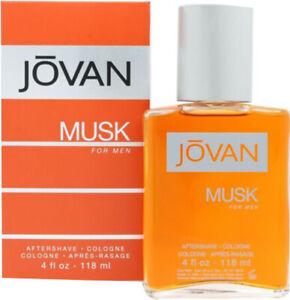 Jovan Musk Aftershave Cologne 118ml For Men UK
