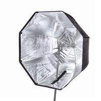 """80cm / 32"""" Octagon Umbrella Softbox for Speedlite/Studio Flash Light/Speedlight"""