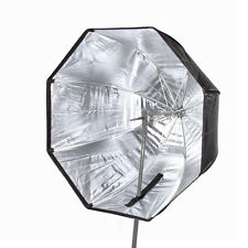 "80cm/32"" Octagon Umbrella Softbox Reflector For Flash Light Studio Speedlight"