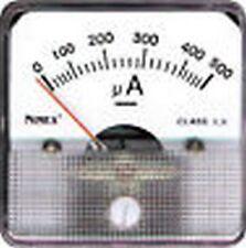 AMPEROMETRO MICRO AMPEROMETRO DA PANNELLO 0/100uA CORRENTE CONTINUA 9/810