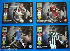 Panini Champions League 2012 2013 Limited Edition Pogba, Sana, Laudrup RAR !!