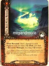 Lord of the Rings LCG  - 1x The Dead Ride Behind  #026 - The Stone of Erech