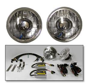 Dapper Lighting 7 inch Right Hand Drive Classic Projector Headlight Kit (RHD)