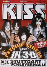 """KISS TOUR POSTER """"PSYCHO CIRCUS TOUR 1999"""""""