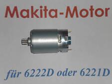 MAKITA MOTOR für AKKUBOHRSCHRAUBER 6221D o. 6222 D 9,6V  Makita Nr. 629783-9
