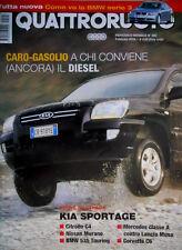 Quattroruote 592 2005 Prova Mercedes Classe A, Lancia Musa, Corvette C6 Q.66