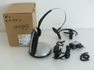 Jabra GN9350 Office Headset Kopfbügel mit G9350e Ladestation Basistation #1