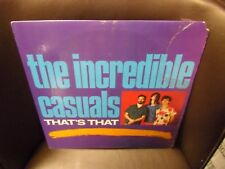 The Incredible Casuals That's That LP Rounder 1987 EX in shrink