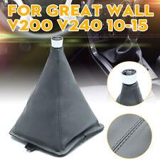 PU Leder Manual Transmission Shift Lever Boot Cover For Great Wall V200 V240 AU