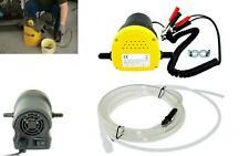 Kit Pompa Aspirazione Estrazione Cambio Olio Gasolio Diesel Elettrica 12V Auto