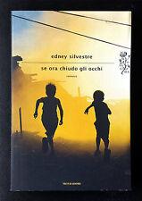 Edney Silvestre, Se ora chiudo gli occhi, Ed. Mondadori, 2013