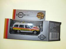 "Opel Kadett E Caravan GL ""ace"" straßenwacht Road Service, gama 1:43 matching Box"