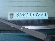 SMC Rover Slough Replica Window Sticker Mini 100 25 45 75 MGTF ZT ZS