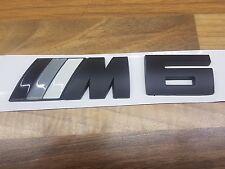 BMW 6 Series Rear M6 Badge
