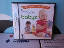 Nintendo DS 3DS Imagine Babyz Babysitter DS, DSi, XL, 2DS, 3DS Game