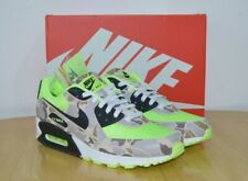 Nike Air Max 90 Duck Volt Green Camo Sneakers Size UK 10.5