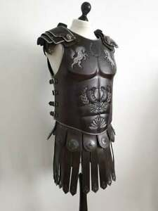 Fantasy leather armor Roman  muscle  Skyrim Imperial Musculata, Greek