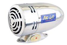 24 Volt Amisirene Sirene Elektrosirene 116 dB(A) US-look 1300 Hz poliert 00266