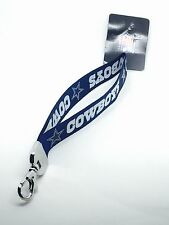 NFL Dallas Cowboys Wristlet Lanyard Keychain Officially Licensed