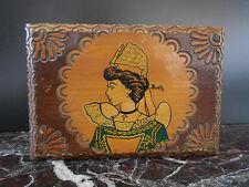 coffret boite à bijoux Breïz vintage fait main CURIOSITY by PN