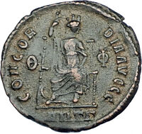 THEODOSIUS I the GREAT 378AD Antioch Authentic Ancient Roman Coin i65872