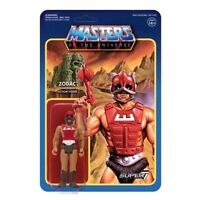 Super7 He-Man Masters of the Universe Zodac ReAction Action Figures 10 cm