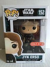 Jyn Erso Star Wars Pop! FUNKO NIB Vinyl Figure Target Exclusive new in box 152