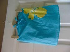 Next blue cotton halter neck top age 7