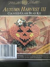 Mill Hill Beaded Cross Stitch Kits Autumn Harvest III MHAH15 Patsy Pumpkin