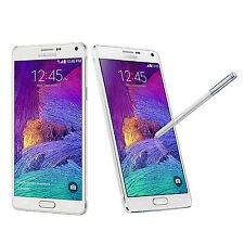 (Frosted white) Samsung Galaxy Note 4 SM-N910T 32GB 4G LTE Unlocked Smart Phone