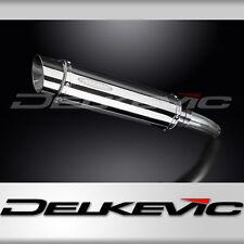"""Suzuki GSX-R750 14"""" Stainless Round Muffler Exhaust Slip On 11 12 13 14 15 16"""