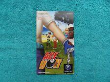 ACE GOLF - nintendo gamecube - original manual